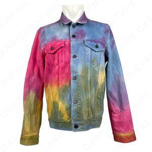 Levi's Dead Head Tie Dye Denim Trucker Jacket M